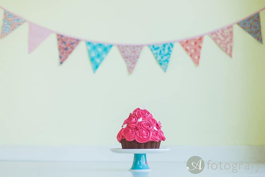 First Birthday Cake Smash Photography | Sophia-Belle 57