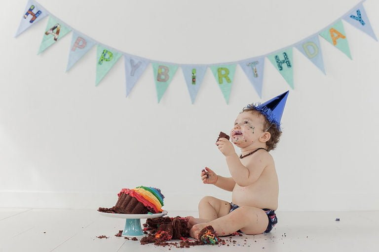 Cake Smash in Edinburgh | 1st Birthday Photos 23