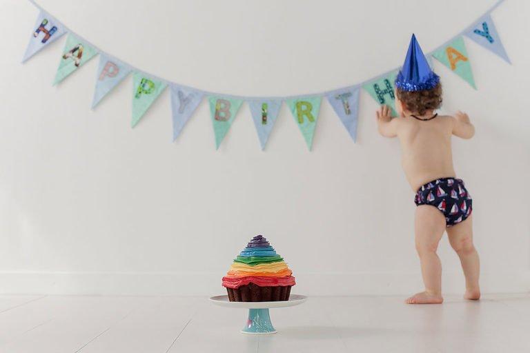 Cake Smash in Edinburgh | 1st Birthday Photos 24
