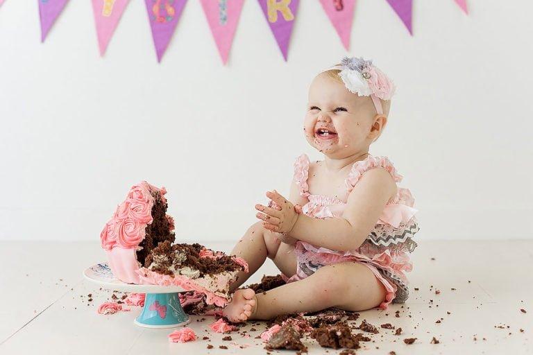 Cake Smash in Edinburgh | 1st Birthday Photos 14