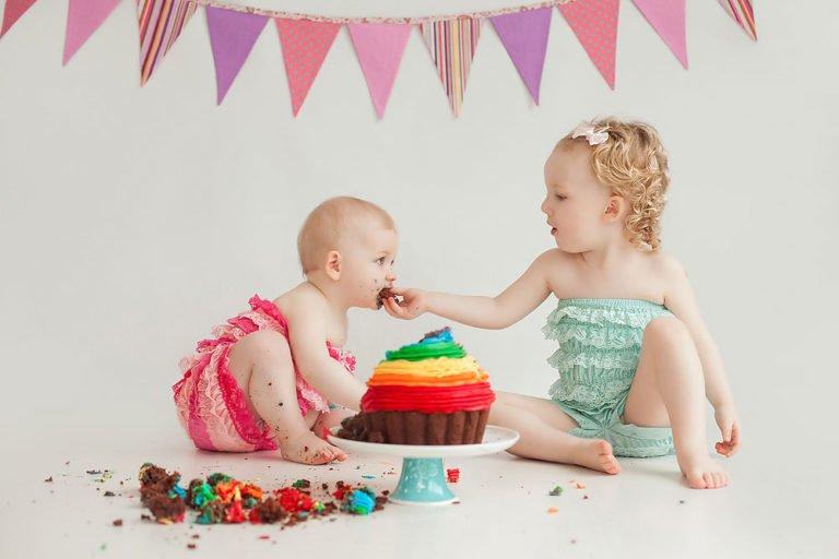 Cake Smash in Edinburgh | 1st Birthday Photos 19