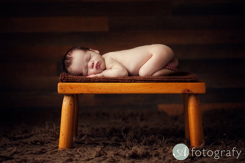 Cute Katie's newborn baby pictures 2