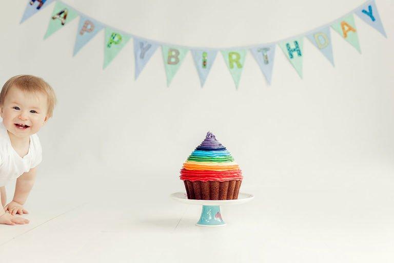 Cake Smash in Edinburgh | 1st Birthday Photos 15
