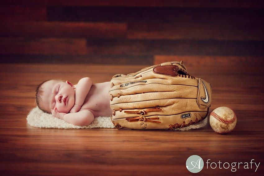 cute baseball newborn baby photography Edinburgh-005