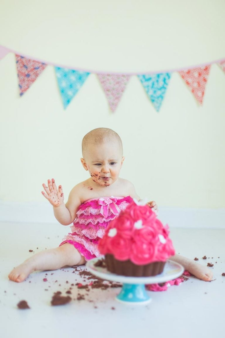 Cake Smash in Edinburgh | 1st Birthday Photos 47