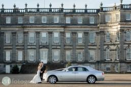 Hopetoun House styled wedding photography for Luxury Scottish Wedding show 1