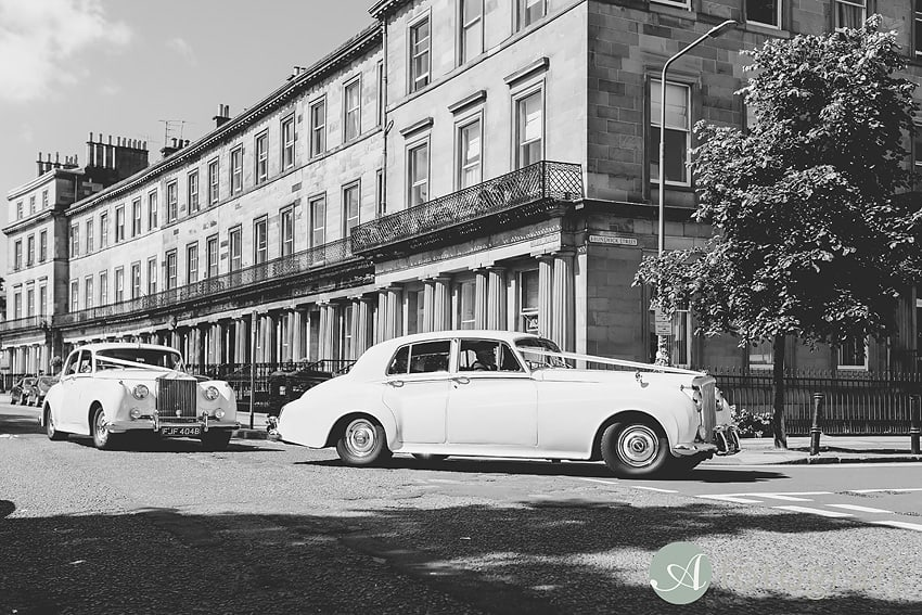 Edinburgh wedding cars