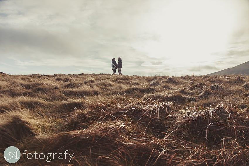 in Pentland Hills near Edinburgh,Scotland