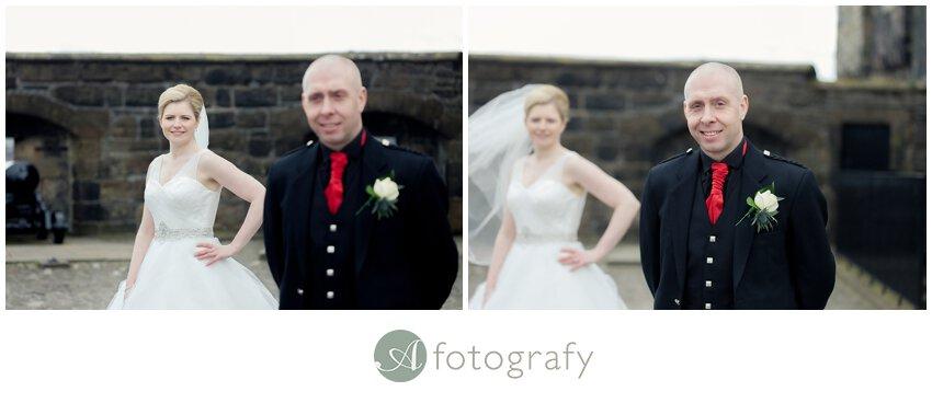 edinburgh castle wedding photographers_0020