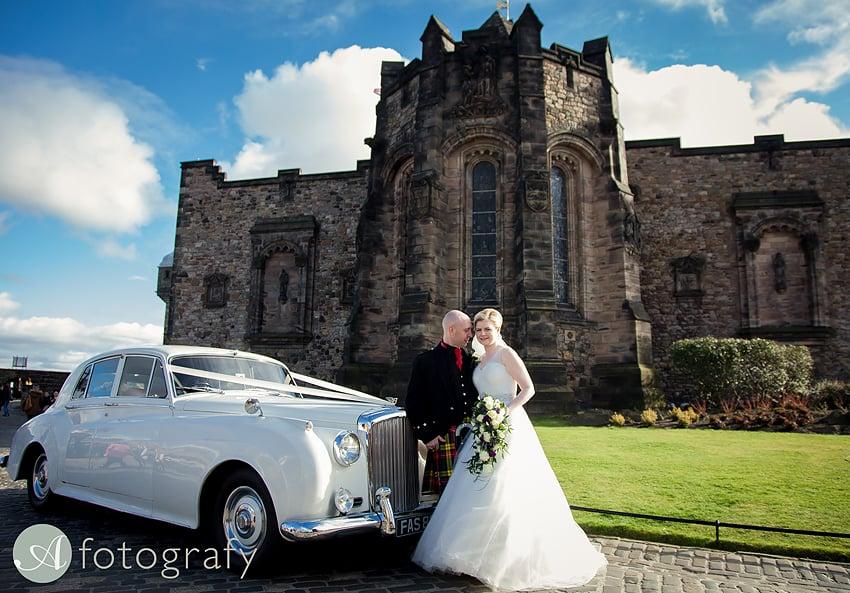 edinburgh castle wedding photography -013