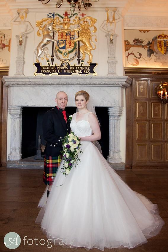 edinburgh castle wedding photography -015