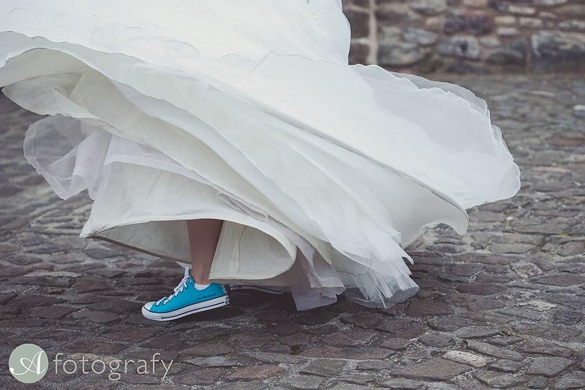 edinburgh castle wedding photography -026