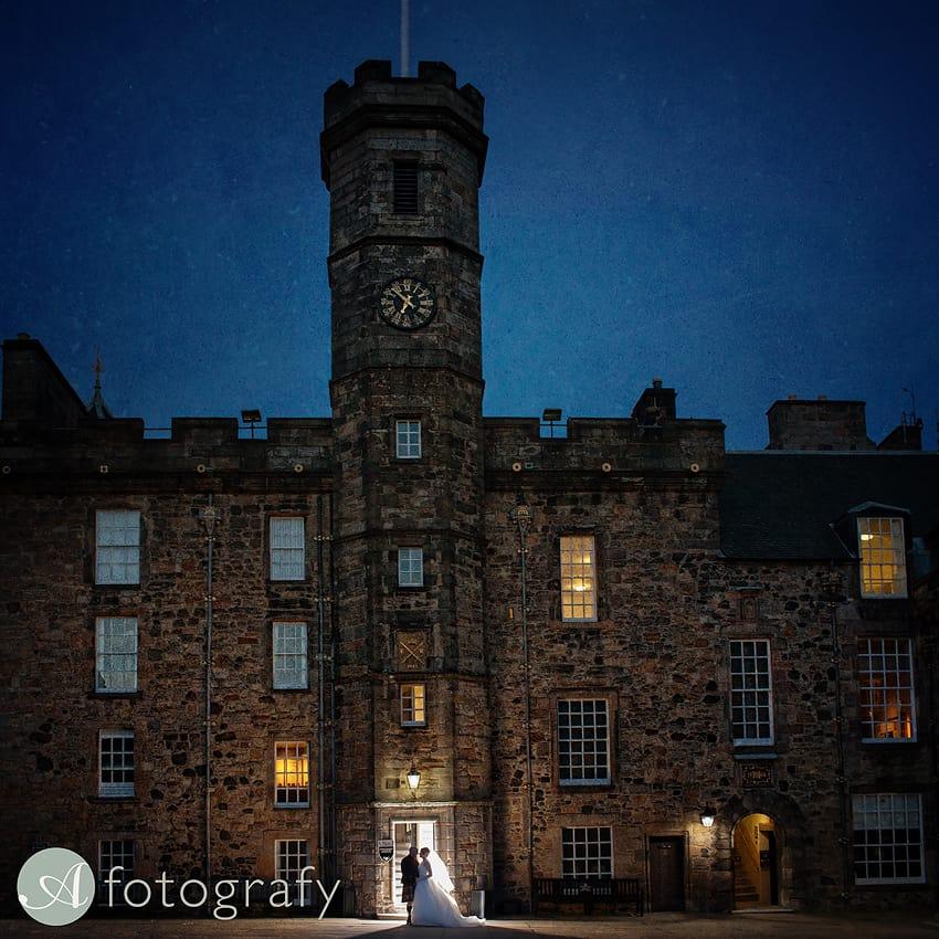 edinburgh castle wedding photography -032