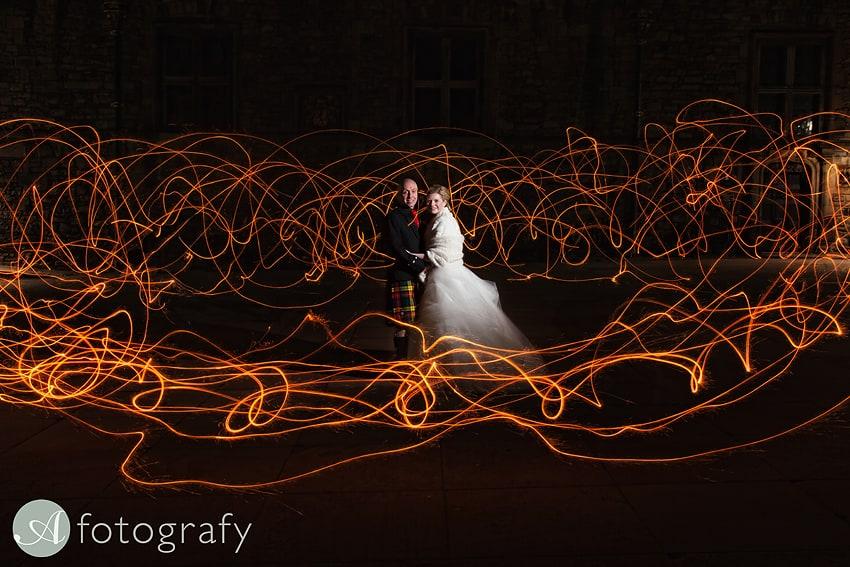 edinburgh castle wedding photography -039