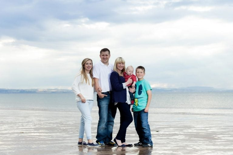 Family portraits on the beach Guide 7