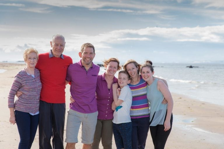 Family portraits on the beach Guide 15