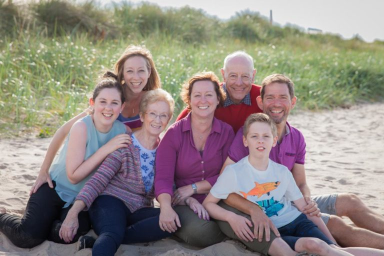 Family portraits on the beach Guide 16