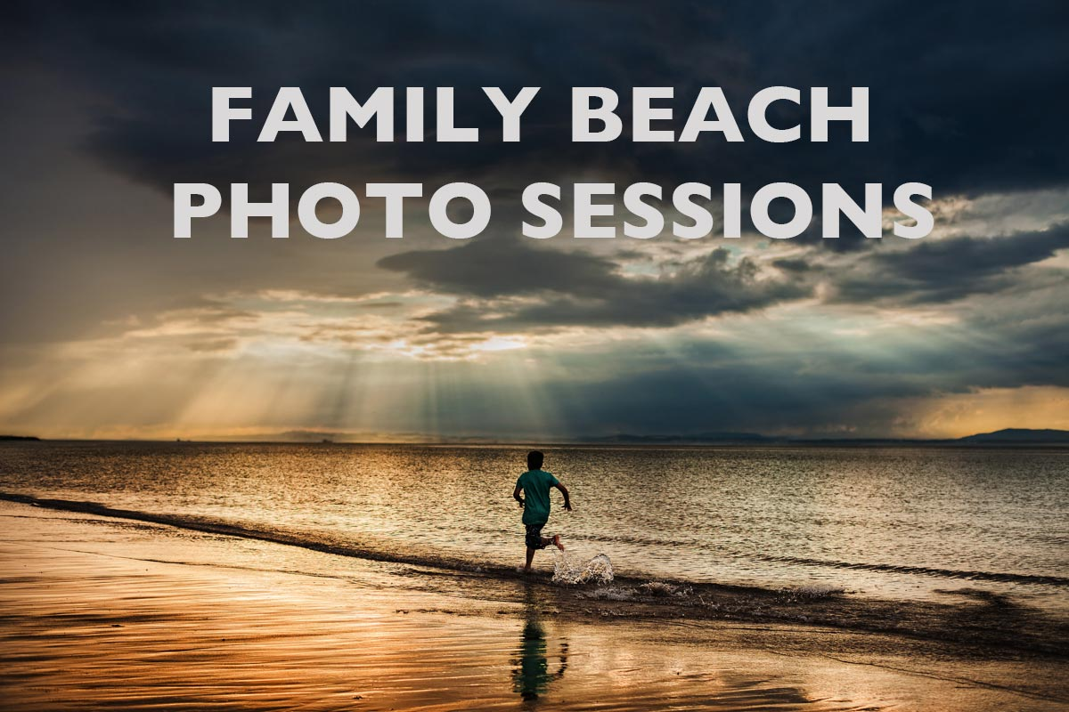 Family portraits on the beach Guide