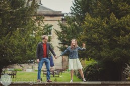 Awesome fun creating Balbirnie house hotel pre wedding photos. 1