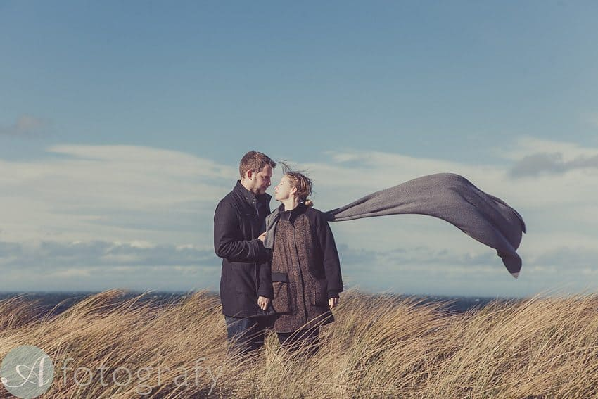 Pre wedding photos at Broxmouth Park | Dave and Julie 1