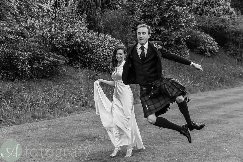 wedding photography at Balbirnie house hotel