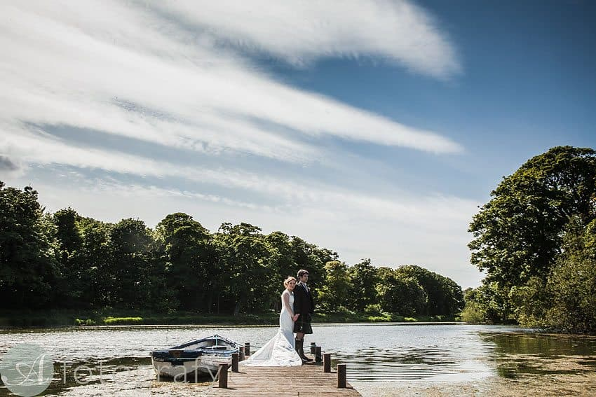 Mr and Mrs Swan wedding at Broxmouth Park 1