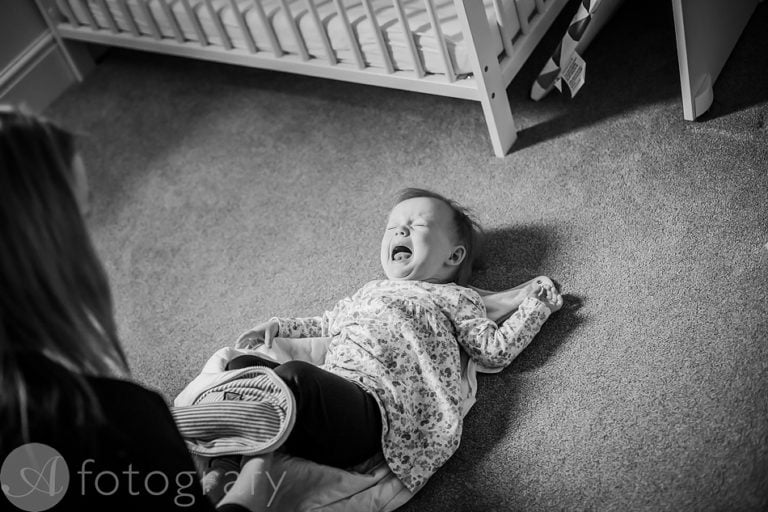 Natural black and white family portraits 28