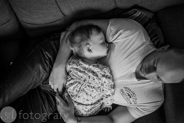 Natural black and white family portraits 31