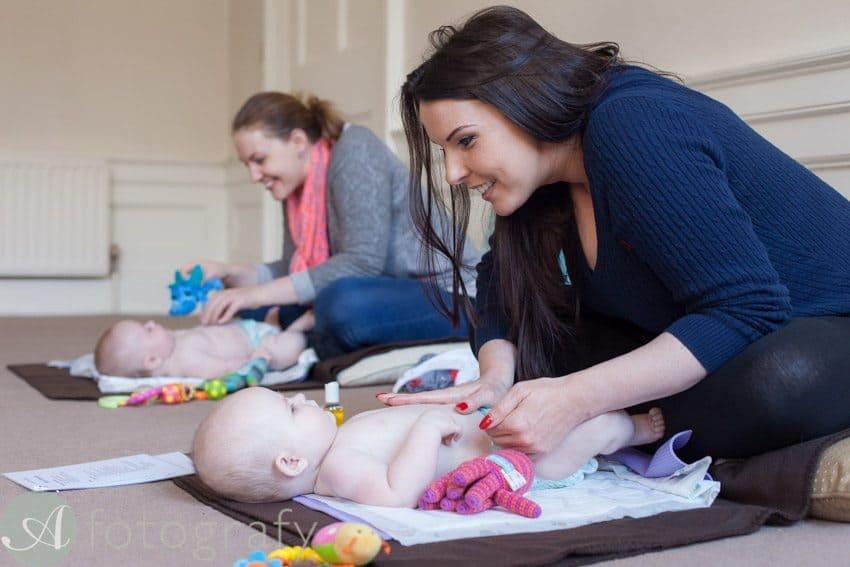 Edinburgh baby massage 2