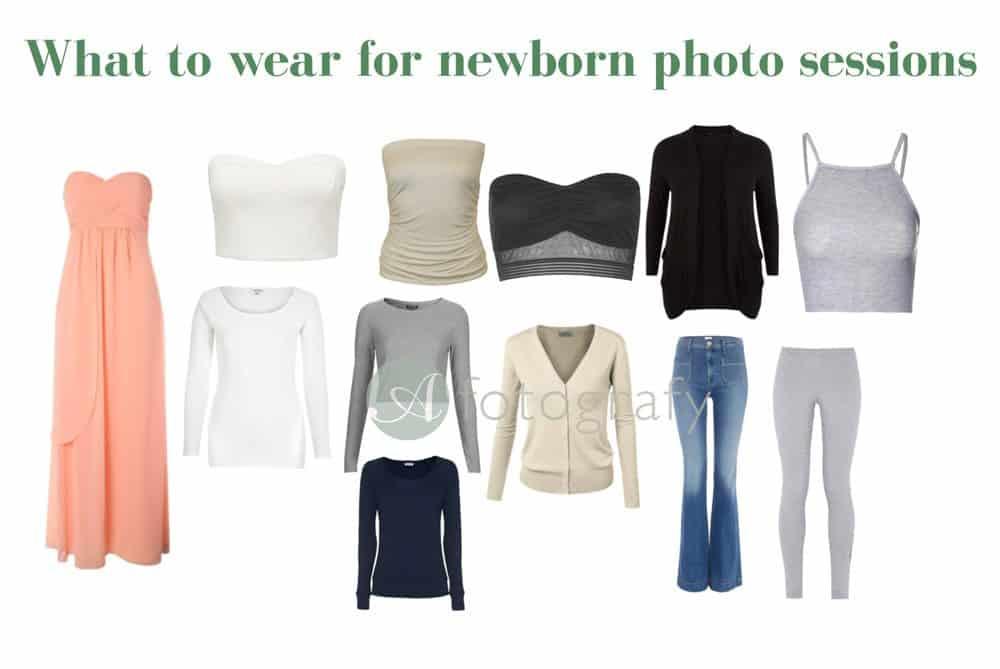 Edinburgh newborn baby sessions what to wear