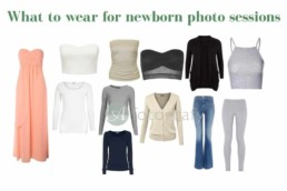 What to wear during newborn baby photo session 2