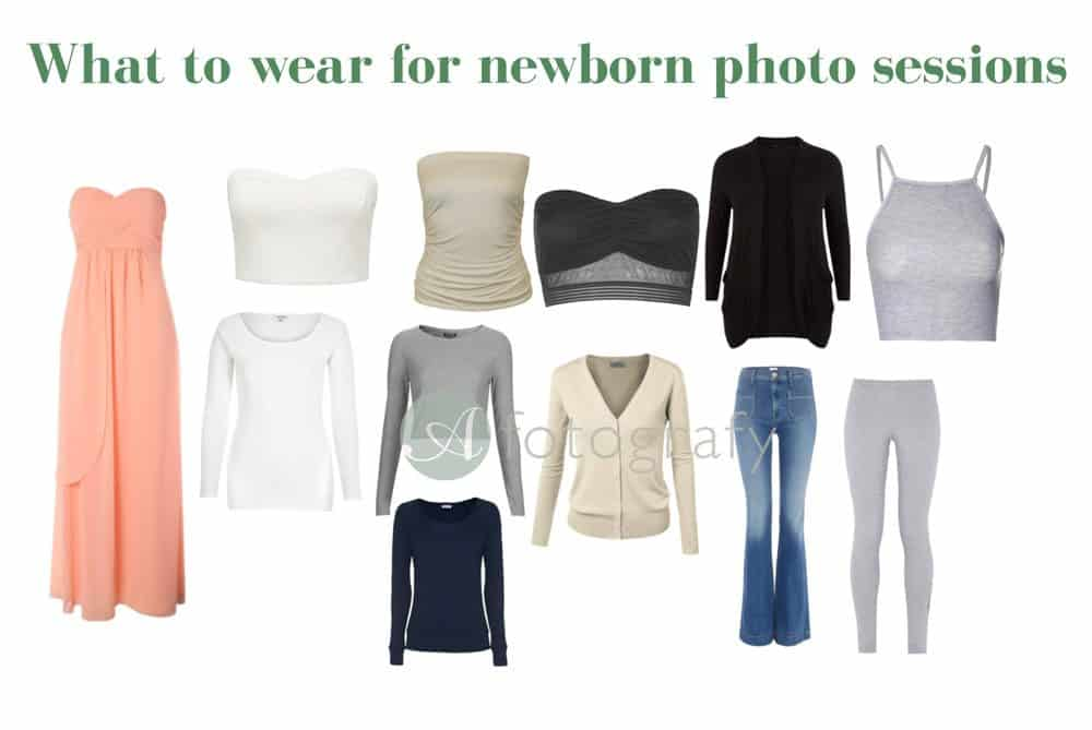 What to wear for a newborn photoshoot. 2