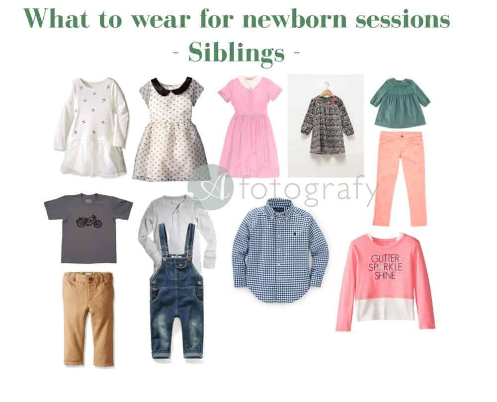 What to wear for a newborn photoshoot. 6