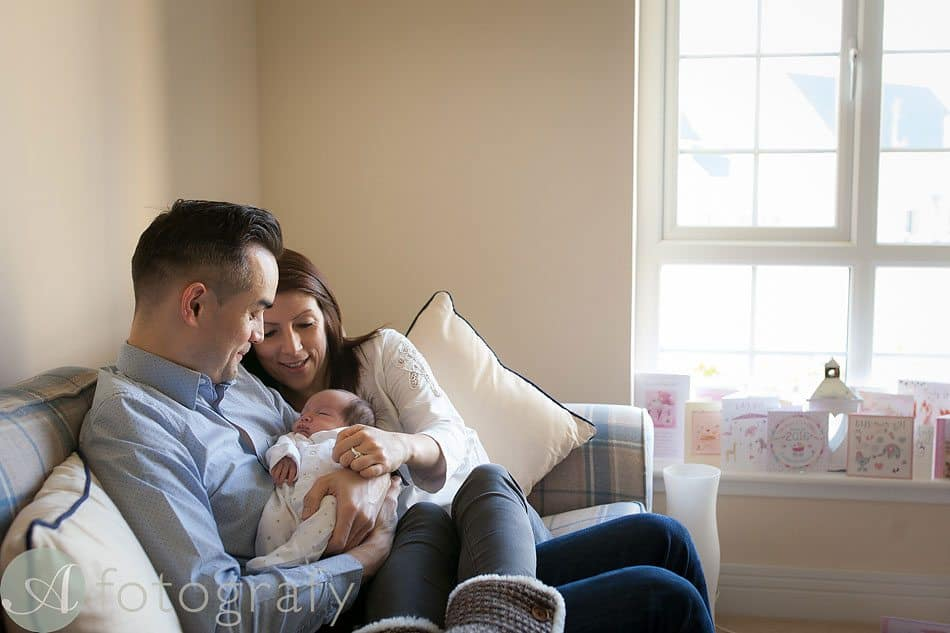 newborn baby photos at home 1