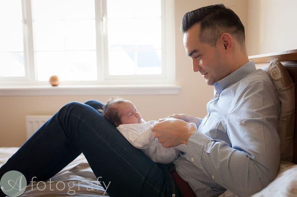 newborn baby photos at home 10