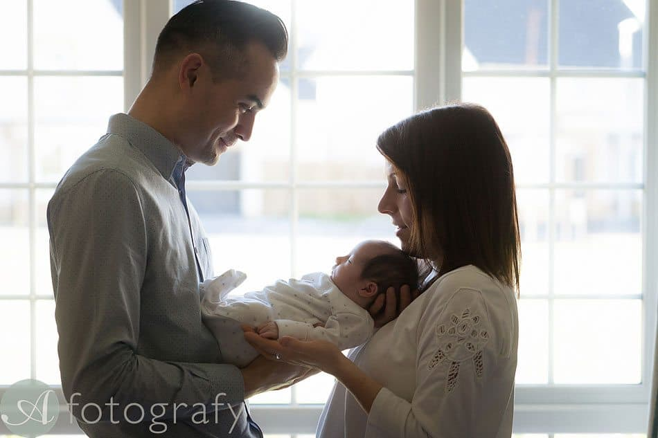 newborn baby photos at home 15