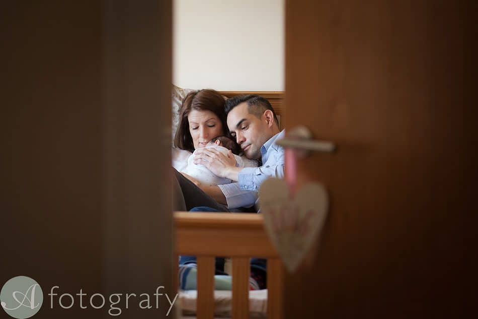newborn baby photos at home 5