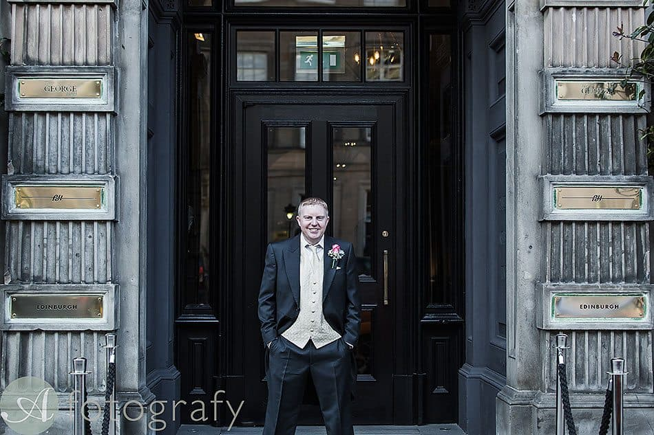 wedding photography george hotel edinburgh 3