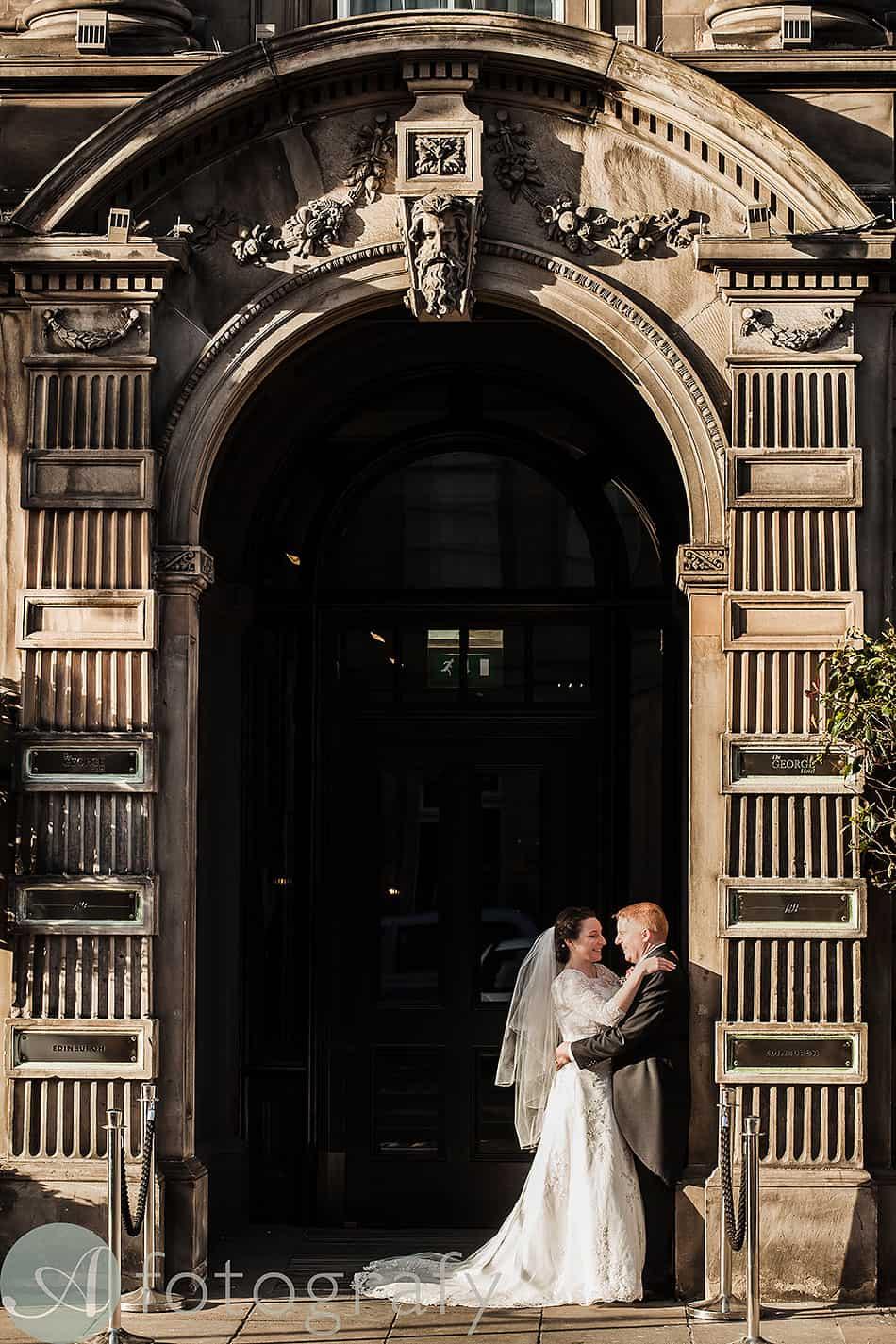 wedding photography george hotel edinburgh 50