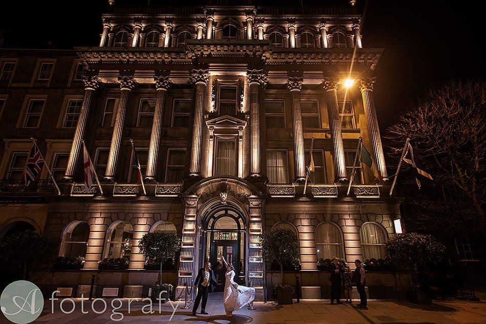 wedding photography george hotel edinburgh 62