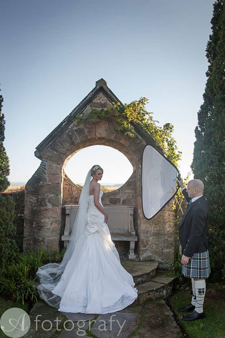 Greywalls Hotel Gullane wedding 13