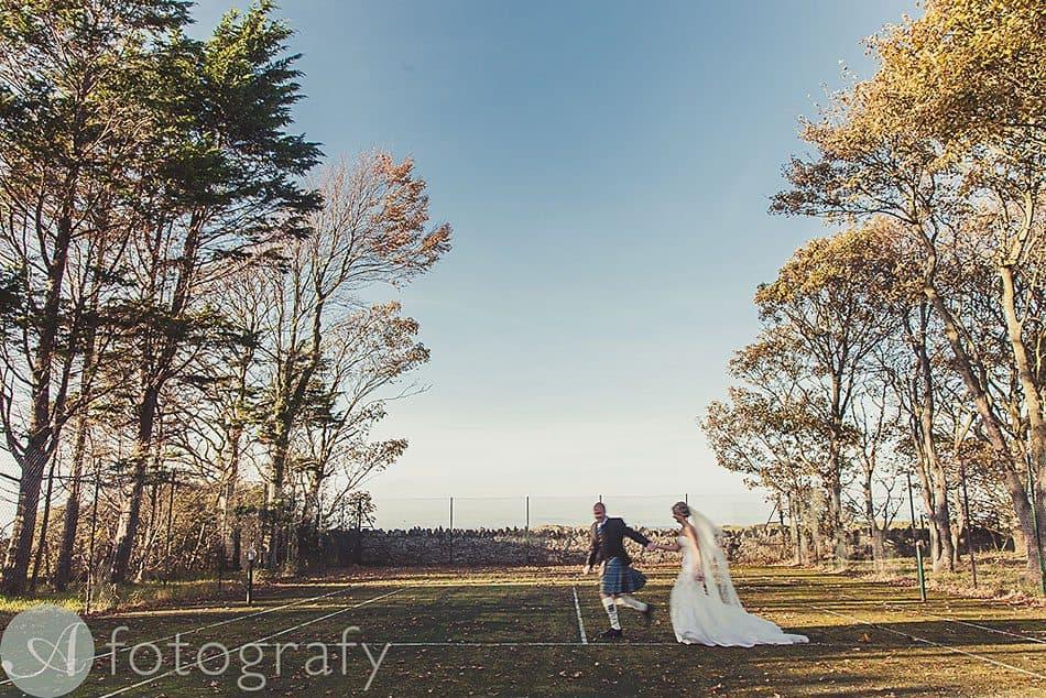 Greywalls Hotel Gullane wedding 23