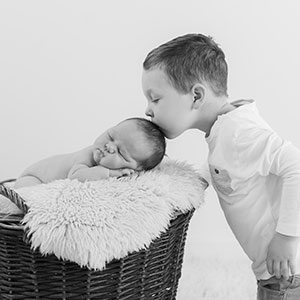 Newborn baby photography in Edinburgh