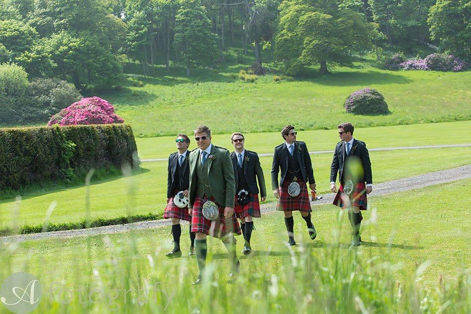 dunglass estate wedding photos 10