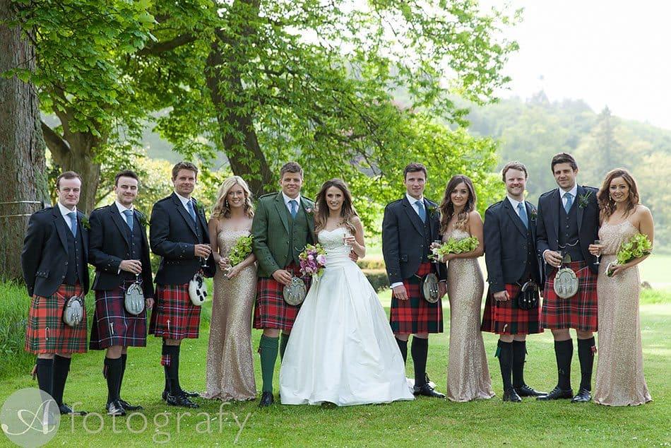 dunglass estate wedding photos 48