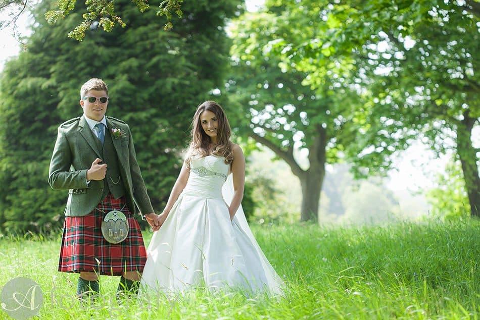 Dunglass Estate Wedding photos