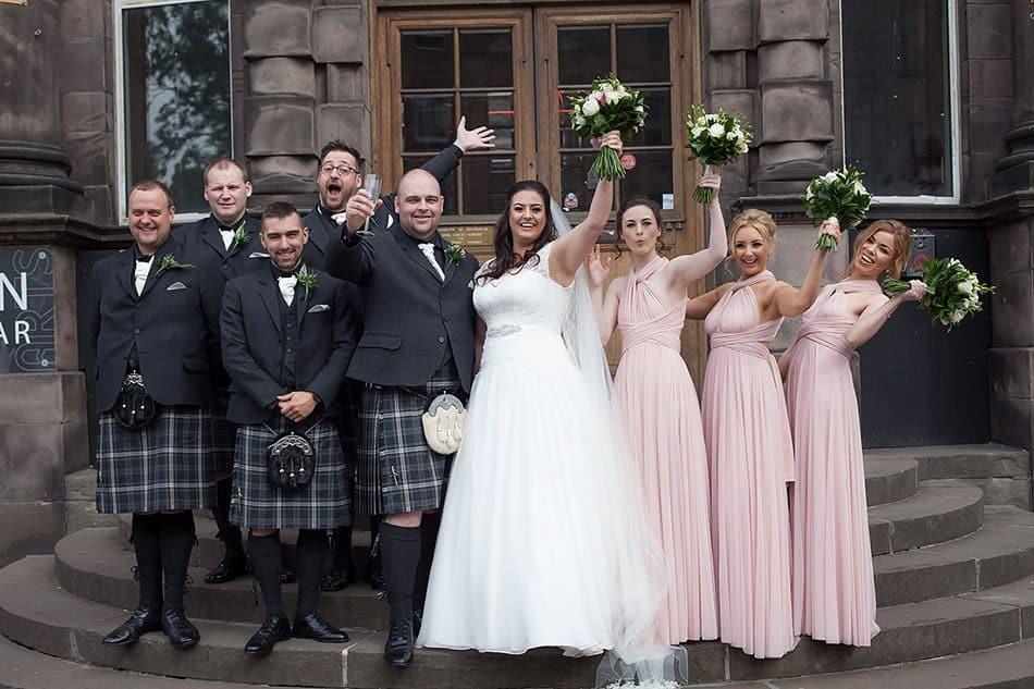 edinburgh summerhall wedding photos 29