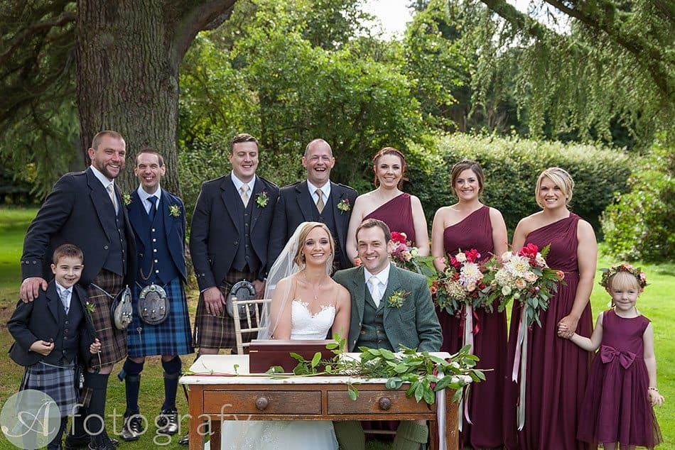 The Byre at Inchyra wedding 45