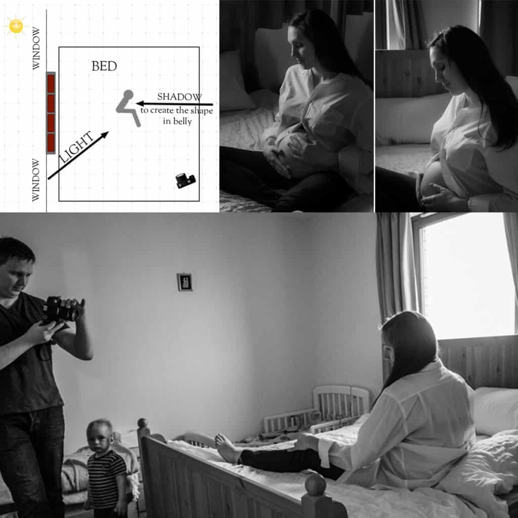 pregnancy photography tips how to do photos at home
