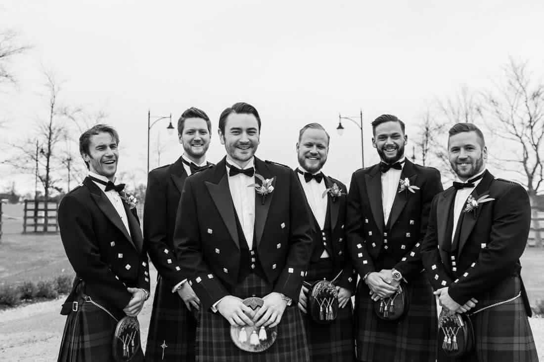 Archerfield house wedding photos grooms